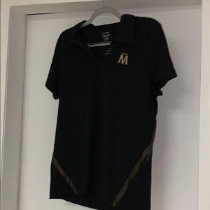 Vintage Molson M ladies collar shirt